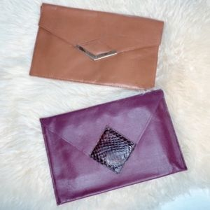 VINTAGE Envelope Clutches Bundle of Two